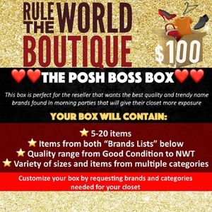 The Posh Boss Resellers Mystery Box